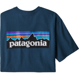 Patagonia P-6 Logo Responsibili-Tee Men, crater blue
